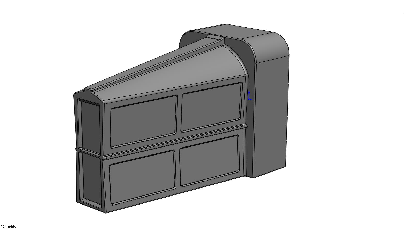 Bike Vault Extra cad drawing